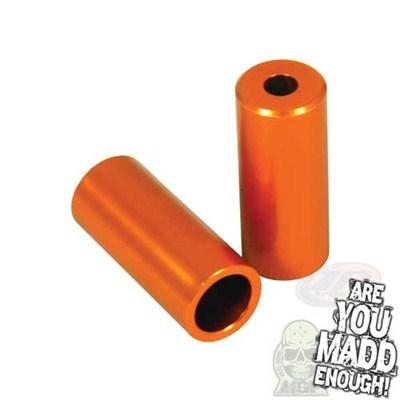 Orange Scooter Stunt Pegs