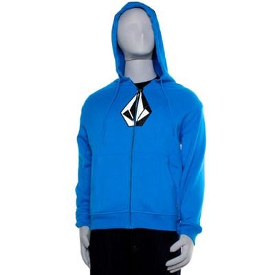 The Stone Basic Electric Blue Zip Hoody