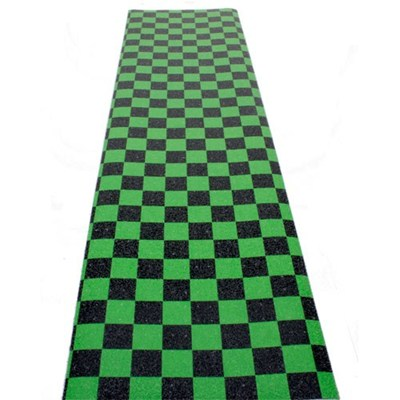 Checkered Black/Green Checkered Scooter Griptape