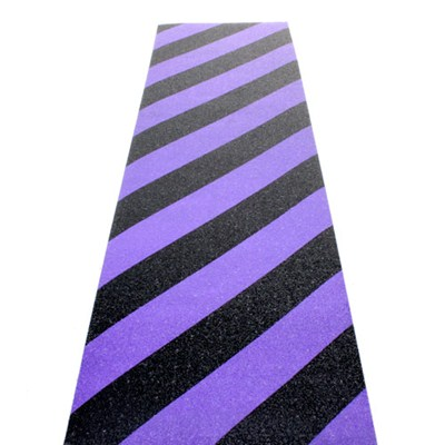 Hazard Black/Purple Scooter Griptape