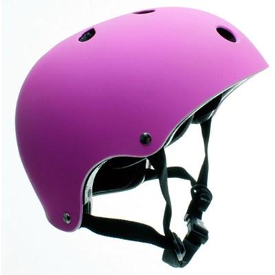 Essentials Matt Fluo Purple Helmet