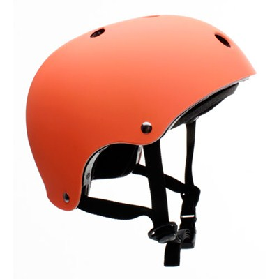 Essentials Matt Fluo Orange Helmet