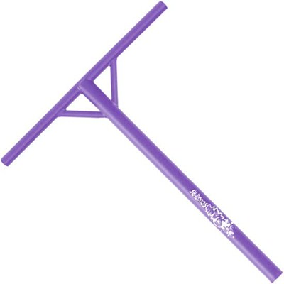 Back Sweep Pro Y Bar Scooter Handlebars - Purple