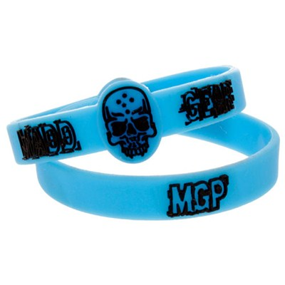 Blue Rubber Wristband