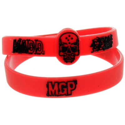Red Rubber Wristband