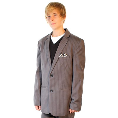 Daper Dark Grey Stone Suit Jacket