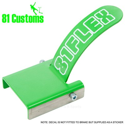 Stainless Scooter Flex Brake Kit - Green
