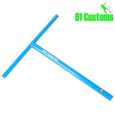 81-Pro Sky Blue Straight One Piece T-Bar