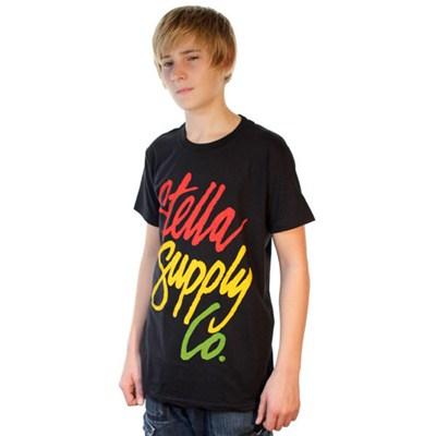 Rasta Script S/S T-Shirt