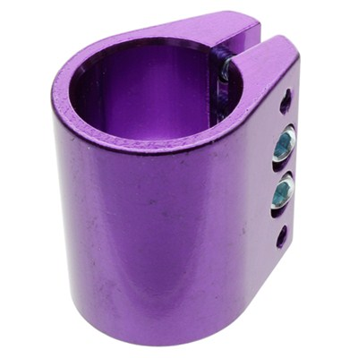 Black Max Quad Collar Clamp - Anodised Purple