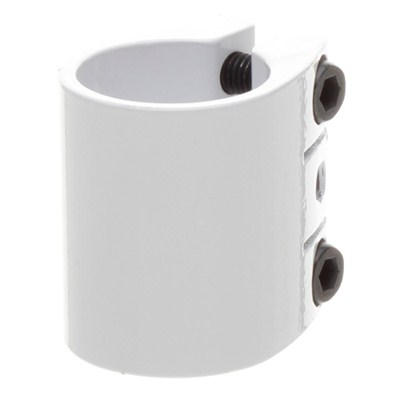 Rage Triple Collar Clamp - White