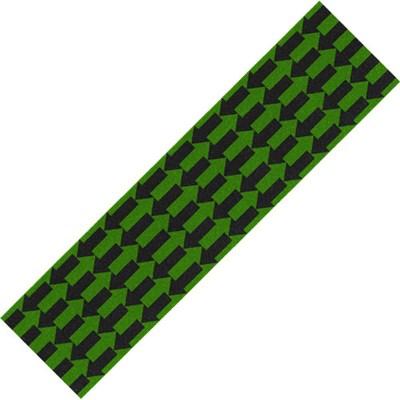 Arrows Black/Green Skateboard Griptape
