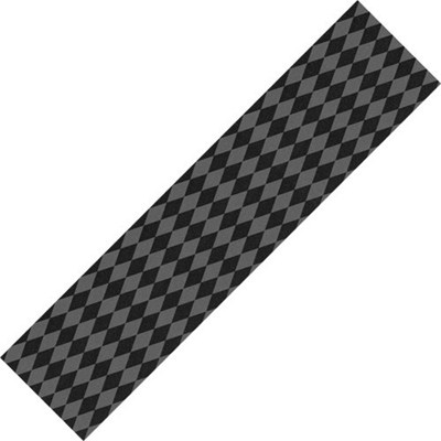 Diamonds Black/Grey Skateboard Griptape