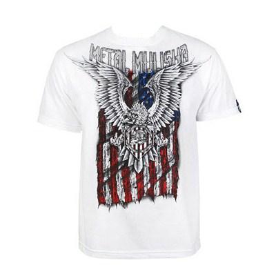 Patriot White S/S T-Shirt