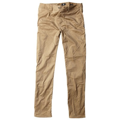 Slim Fit Chino Khaki Pants