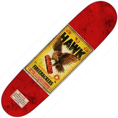 Firecracker Hawk 8.0 Skateboard Deck