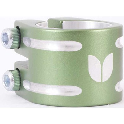 Duo Collar Scooter Clamp - Green (inc Shim)