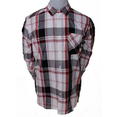 Ex Factor Lumberjack Red Plaid L/S Shirt