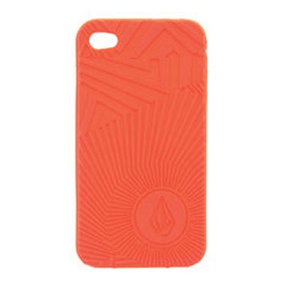 Spiral Op iPhone 4 Case - Fire Red