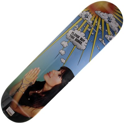 Hail Mary 8inch Skateboard Deck