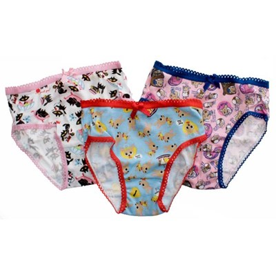 Small Paul Girls 3-Pack Panties