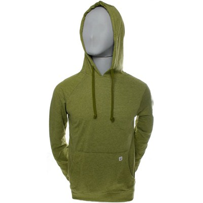 Time Machine Ultra Slim Shimmer Moss Pullover Hoody