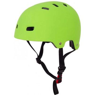 T35 Matt Green Delux Skate/BMX Helmet