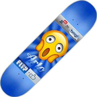 Arto Saari Emoji 8.13inch Skateboard Deck