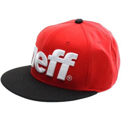 Sport Snapback Cap - Red