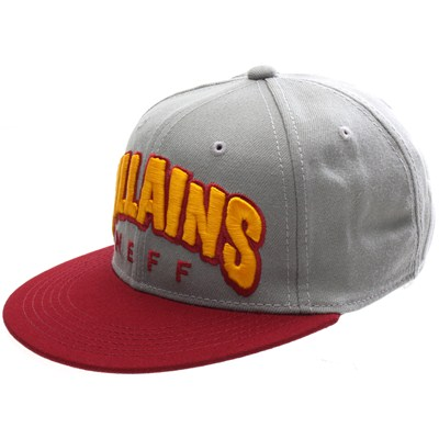 Villains Snapback Cap - Grey