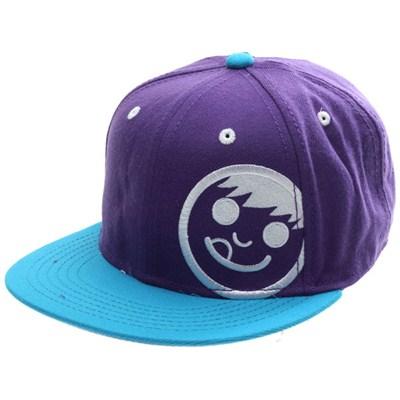 Corpo Snapback Cap - Purple/Blue/White