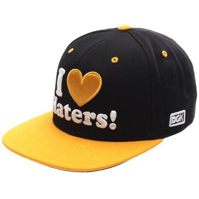 I Love Haters Snapback Cap - Pittsburgh