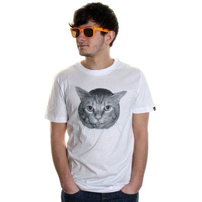 My Other Cat White S/S T-Shirt