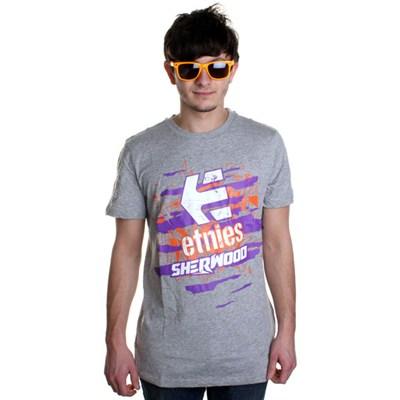 Torn Grey Heather S/S T-Shirt