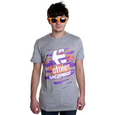 Torn Grey Heather S/S T-Shirt
