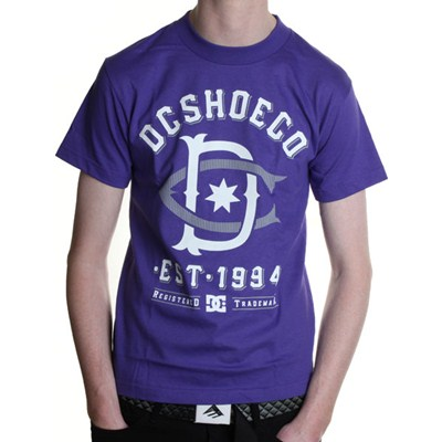 RD Throwback 2 S/S T-Shirt - Purple