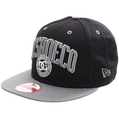 RD League New Era Snapback Cap - Black/Grey