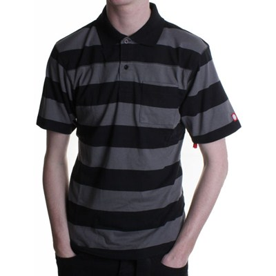 Ellis Black S/S Polo Shirt