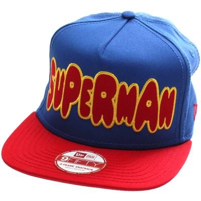 Character Bubble Superman Snapback Cap
