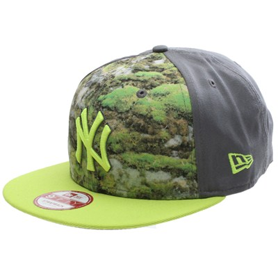 Pattern Front NY Yankees Strapback Cap
