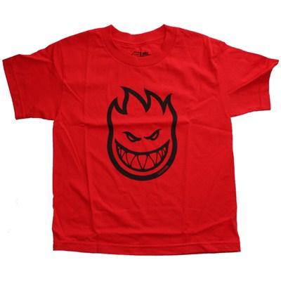 Bighead Youths S/S T-Shirt - Red/Black
