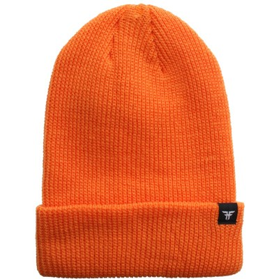 Wharf 3 Beanie - Hazard Orange