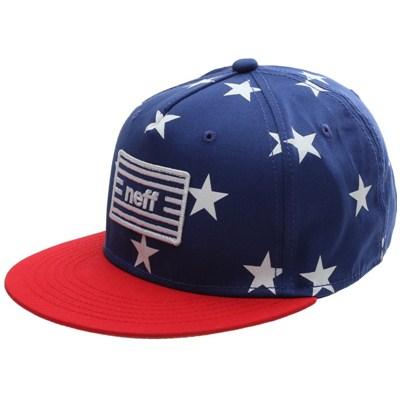 Jazz Snapback Cap - Blue