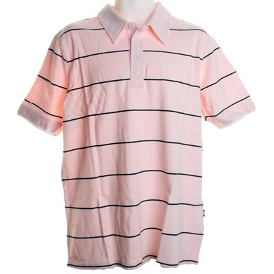 Fun Knit S/S Polo Shirt - Light Pink
