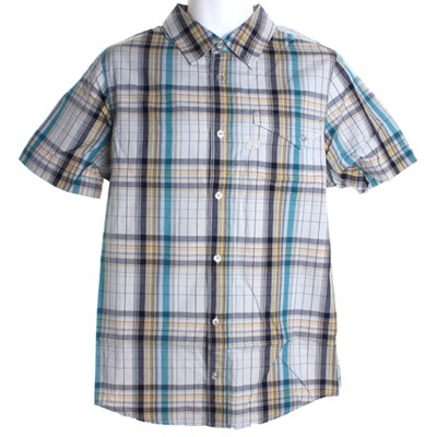 New Day S/S Woven Shirt - Ice Blue