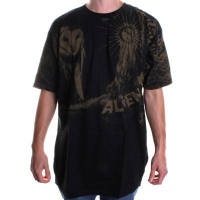 Owl S/S T-Shirt - Black