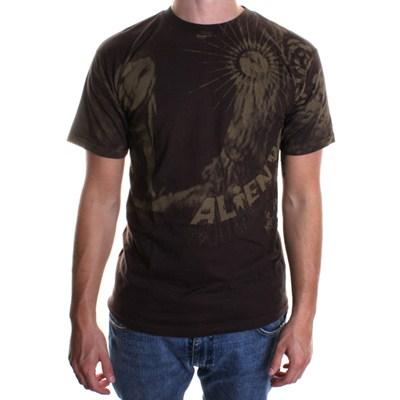 Owl S/S T-Shirt - Brown