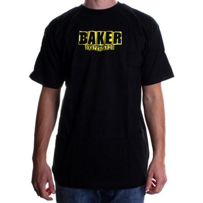 Brand Logo S/S T-Shirt - Black/Yellow