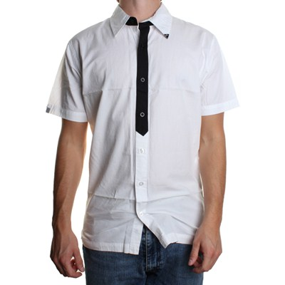 Maniac S/S Shirt - White