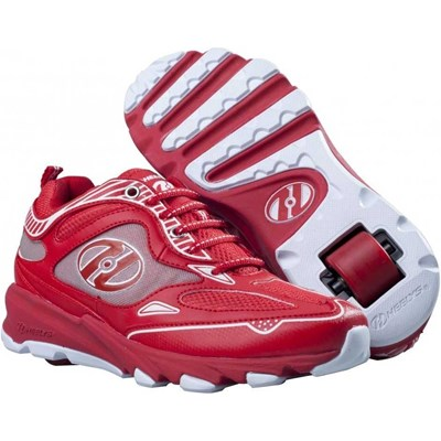Swift Red/White Kids Heely Shoe